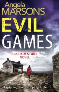 Evil Games by Angela Marsons book cover